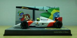 McLaren Honda MP4/7 (Escala 1:43) Edição em homenagem ao aniversário de 15 anos do Instituto Ayrton Senna