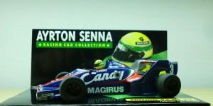 Toleman Hart TG183 - Teste na F1