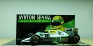 Williams Ford FW08C - Primeiro teste na F1