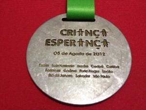 Primeira medalha!